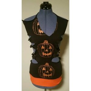 Rockin' Bones Pumpkin Tunic Dress